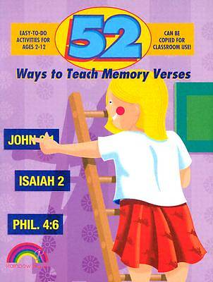 Picture of 52 Ways to Teach Memory Verses