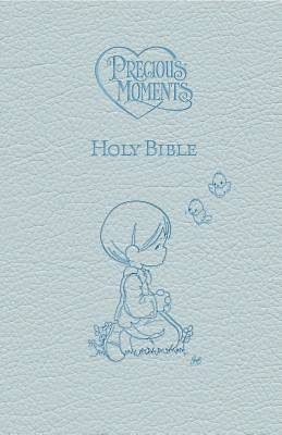 Picture of Precious Moments Holy Bible - Blue Edition