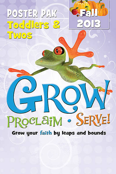 Picture of Grow, Proclaim, Serve! Toddlers & Twos Resource Pak Fall 2013