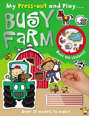 Picture of Press-Out and Play Busy Farm
