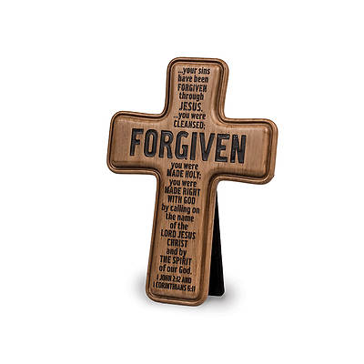 Brown Cast Stone Series - Forgiven Cross