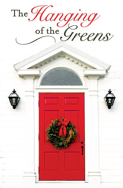 Hanging of the Greens Bulletin 2012, Regular Size (Package of 50)
