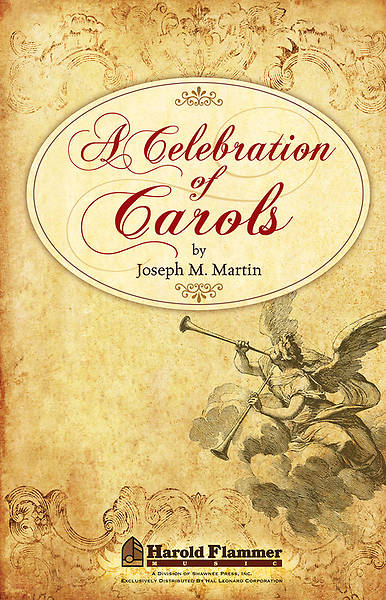 A Celebration of Carols:  Preview Pack (SATB Book/Listening CD)