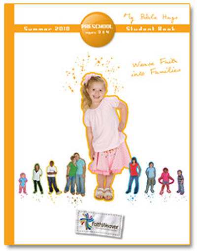 Picture of FaithWeaver Preschool Student Book Summer 2010