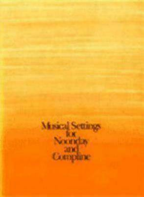 Picture of Musical Settings for Noonday and Compline - Package of 10