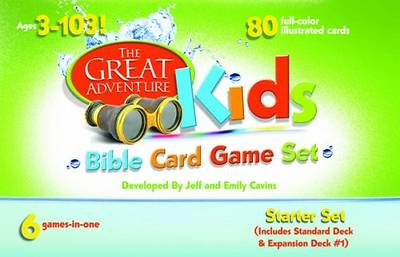 Picture of The Great Adventure Kids Bible Card Game Set