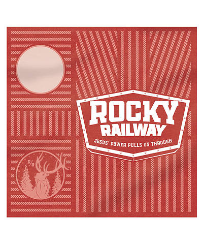 Picture of Vacation Bible School VBS 2021 Rocky Railway Banduras - Rivet Red (pkg of 6)