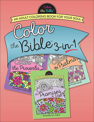 Color the Bible 3-In-1 (Volume 2)