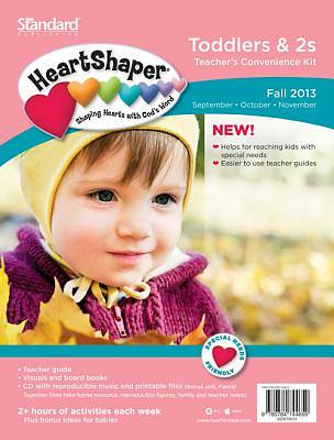 Standard  HeartShaper Toddlers & 2s Teachers Kit Fall 2013