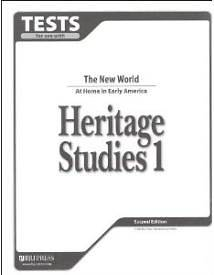 Heritage Studies Tests Grd 1 2nd Edition