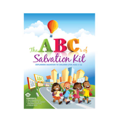 Vacation Bible School ( VBS) 2017 Glow For Jesus ABCs of Salvation Kit