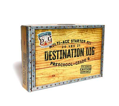 Picture of Vacation Bible School VBS 2021 Destination Dig Unearthing the Truth About Jesus Multiage Starter Kit