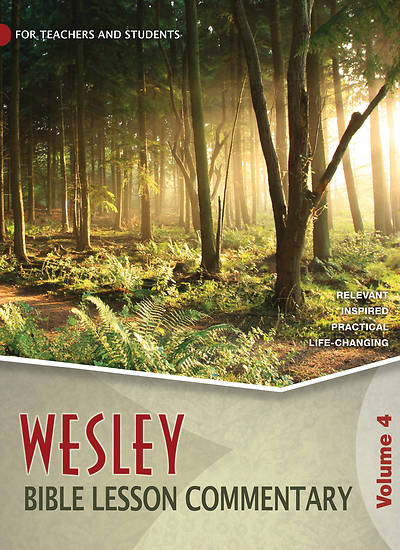 Picture of WESLEY ADULT BIBLE LESSON COMMENTARY VOL. 4