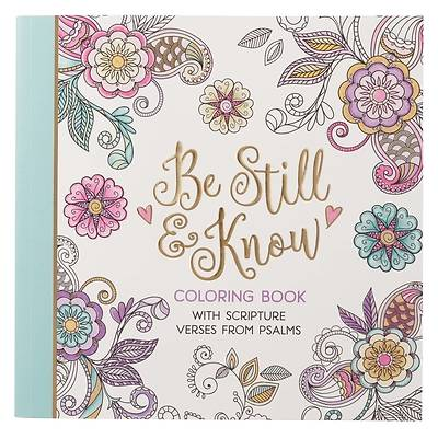 Picture of Be Still Coloring Book