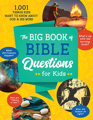 Picture of The Big Book of Bible Questions for Kids