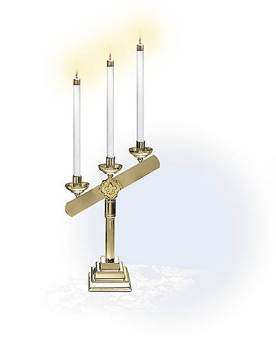 Three-Light Candelabra