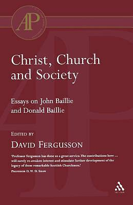 Christ, Church and Society