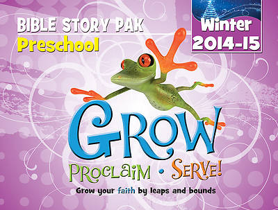 Picture of Grow, Proclaim, Serve! Preschool Bible Story Pak Winter 2014-15