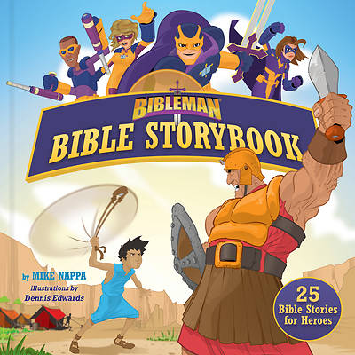 Bibleman Bible Storybook (Padded)
