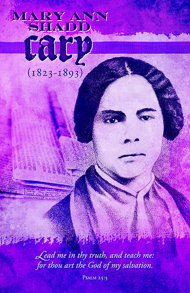 Black History Mary Ann Shadd Cary Bulletin Regular (Package of 100)