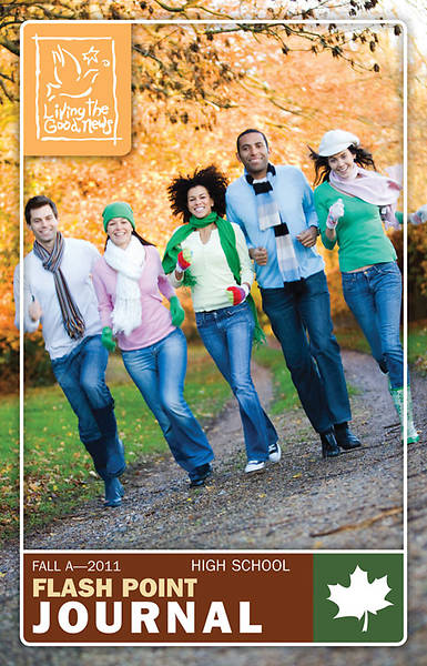 Picture of Living the Good News Fall 2011 High School Flash Point Scripture Journal (Grades 10,11,12)