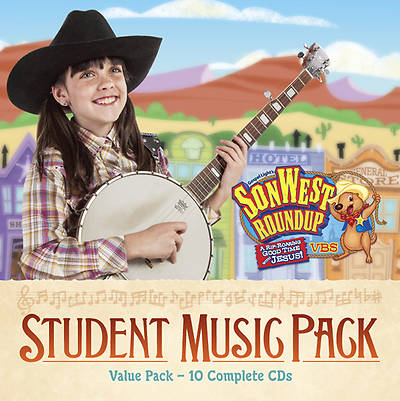 Gospel Light Vacation Bible School 2013 SonWest RoundUp Student Music Pack