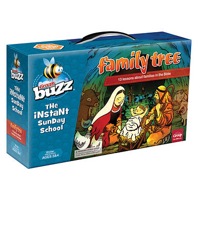 Picture of Buzz Preschool Family Tree Kit Winter 2020-2021