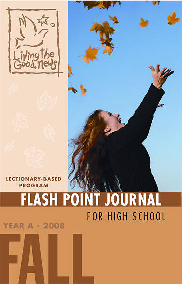 Picture of Living the Good News Fall Flash Point Scripture Journal 2008