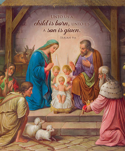 Picture of A Son is Given Bulletin Legal Isaiah 9:6