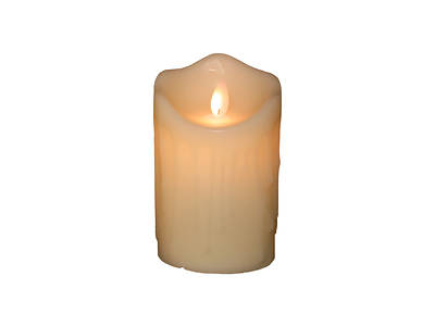 Marvelous Lights Ivory Flameless Candle 3