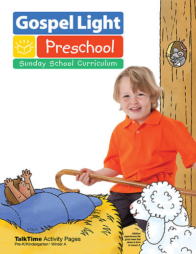 Gospel Light Pre-Kindergarten/Kindergarten Ages 4 & 5 Activity Pages Winter