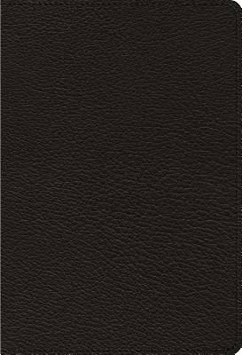 ESV Heirloom Single Column Personal Size Bible (Goatskin, Black)