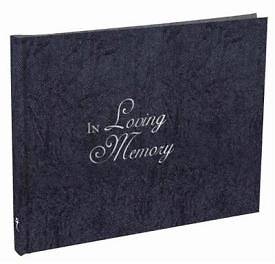 Picture of Guest Book In Loving Memory Small