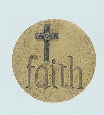 Faith Small Wall Plaque