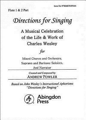 Directions for Singing - Flute 1 & 2
