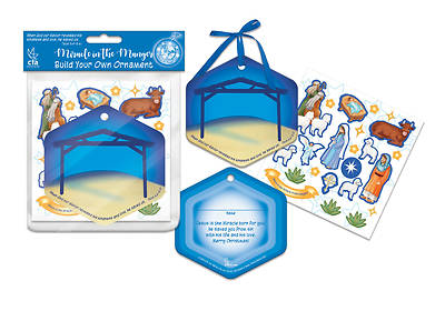 Picture of Miracle in the Manger Christmas Build Your Own Ornament