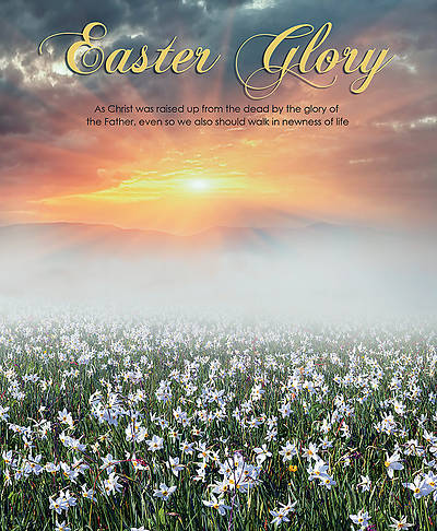 Picture of Easter Glory Easter Legal Size Bulletin