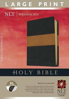 Picture of Personal Size Large Print Bible-NLT