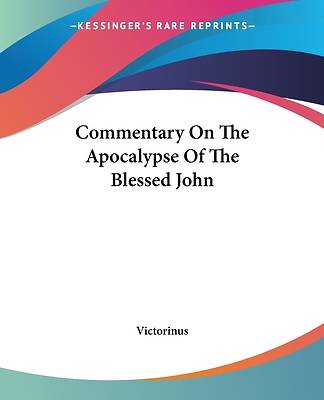 Picture of Commentary on the Apocalypse of the Blessed John