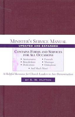 Picture of Minister's Service Manual, Update and Expanded