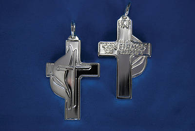Picture of United Methodist Sterling Silver Confirmation Cross