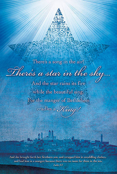 Star in the Sky Christmas Bulletin Luke 2:7 KJV Regular (Package of 100)
