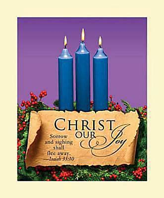 Advent Blue Sunday 3 Bulletin 2011, Large (Package of 50)
