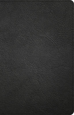 Picture of NASB Large Print Personal Size Reference Bible, Black Genuine Leather Indexed