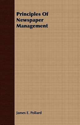 Principles Of Newspaper Management [ePub Ebook]