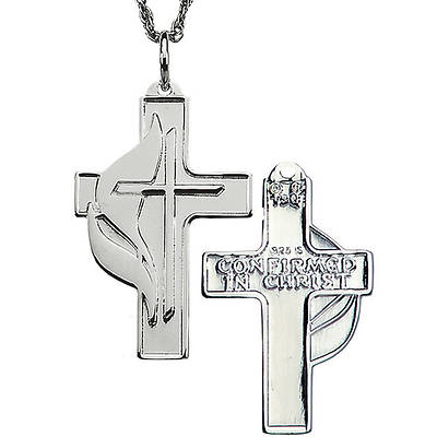 United Methodist Sterling Silver Confirmation Cross