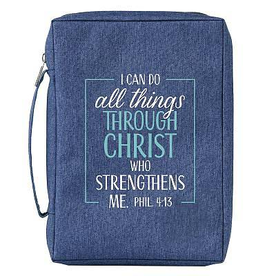 Picture of Bible Cover Large Value I Can Do All Things