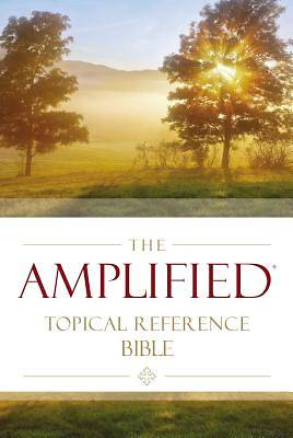 Picture of Amplified Topical Reference Bible, Hardcover