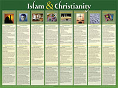 Picture of Islam And Christianity Wall Chart - Laminated
