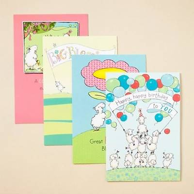Really Woolly® - Birthday Boxed Cards - Box of 12